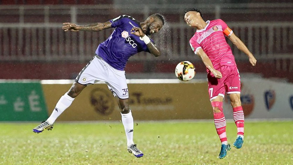 V-League 2018: Sài Gòn FC đại thắng 5-2 trước Hà Nội FC